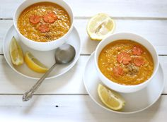 Split Pea Sunshine & Saffron Soup  I used red lentils bc they cook quicker and I had them on hand!