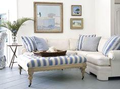 Ocean Blue Living Rooms