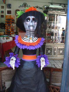 La Catrina, artesanía Mexicana