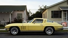 1965 Chevrolet Corvette Sting Ray Fastback C2 - Crocus Yellow | by Pat Durkin OC