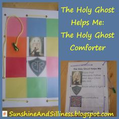 Sunshine and Silliness: The Holy Ghost Helps Me: The Holy Ghost Comforter