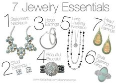 Lia Sophia 7 Jewelry Essentials Every Girl Must Have