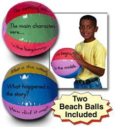 Creative Classroom Supplies - Teacher & Student Resources - Guided Reading Beach Ball