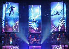 Slideshow of work by Es Devlin, designer of London 2012 Olympic closing ceremony.