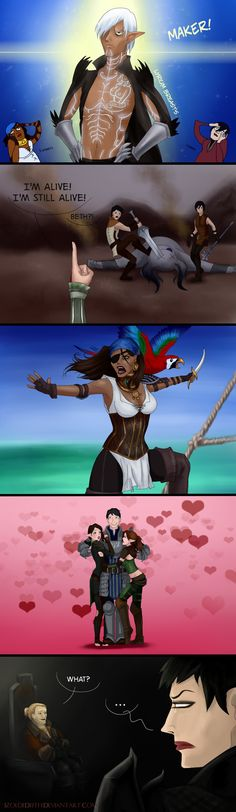 Another one How It Was by IzoldeDeith on deviantART #DragonAge
