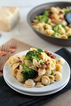 Spicy Sausage and Broccoli Orecchiette | This easy pasta recipe is ...