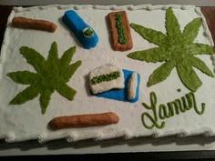 Marijuana Cake I made!!