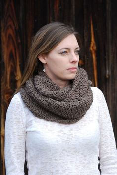 Crochet For Free: Soft Stitch Cowl Pattern (Adult)