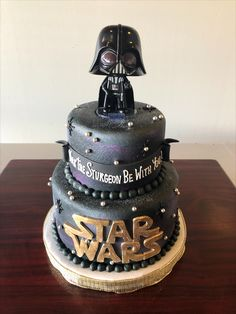 Fantastic 33 Best Star Wars Cakes Images In 2020 Star Wars Cake Cake Birthday Cards Printable Giouspongecafe Filternl