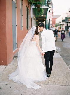 Photography : Marissa Lambert | Wedding Dress : Monique Lhuillier Read More on SMP: http://www.stylemepretty.com/2014/08/04/romantic-french-garden-inspired-photo-shoot/
