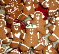 """Wonderful Gingerbread Cookies: """"My granddaughters and I had such fun baking and decorating these gingerbread boys! The dough is so easy to work with, and everyone at our annual Christmas Eve party commented on how cute and tasty they were."""" -Chef #670879"""