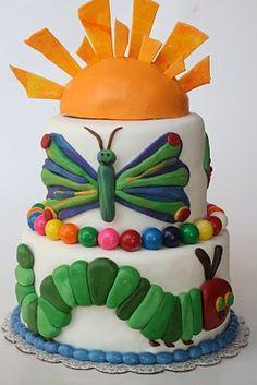 The Hungery Catepillar Cake @Elizabeth Artiz