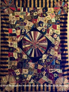 Osberger Family Quilt, c. 1880; quiltmaker unknown; quilt inherited by Una Osberger Ammerman