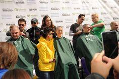 The Jersey Boys shaving brave shavees #BraveaShave