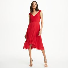 fb78ba508ed Jessany Dress. Semi Formal Dresses For WeddingRed Pleated ...