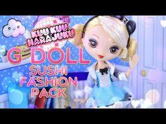 dcfb86f6bcd8 (1) Unbox Daily  Kuu Kuu Harajuku G Doll PLUS Sushi Fashion Pack -
