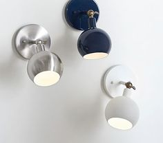 The white sconce would be a good replacement for the light in the reading nook.