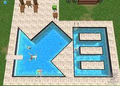 Strange shaped pools