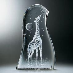 Steuben Glass giraffe