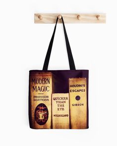 Modern Magic Tote Bag  Harry Potter  Houdini  by DifferentCity
