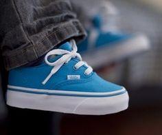 blue little vans