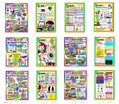 Compilation of Display Bulletin Boards for Quarter for Grades 1 to 6 English Bulletin Boards, Elementary Bulletin Boards, Teacher Bulletin Boards, Math Boards, Classroom Display Boards, Classroom Displays, Classroom Decor, Classroom Clock, Classroom Design
