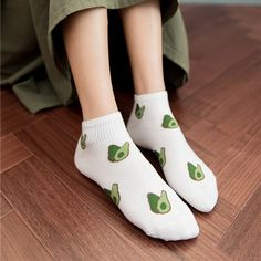 Avocado Sock Set – It's Okay To Be Weird Unique Socks, Put On, One Size Fits All, Avocado, Weird, Fitness, Women, Fashion, Moda