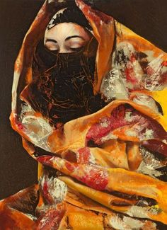 Secret behind the veil, Lita Cabellut