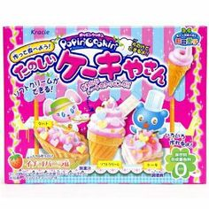 "Kracie Popin' Cookin' DIY candy kit cream cake by Kawaii. $13.14. 1x pastry bag with 2 compartments, 1x mold, size of the box: width: 14cm (5.5""), height: 11cm (4.3""), depth: 4.5cm (1.7""), incl. instructions with pictures (see also instruction video below), mold can of course be reused. Popin' Cookin' is a series of edible DIY candy in funny shapes, that you can easily make yourself by adding water to the ingredients of the package. content: 2x bags of powder wit..."