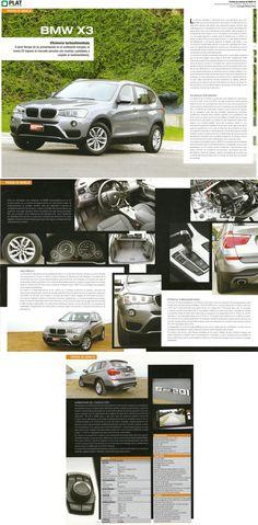 Inchcape Motors: Prueba de manejo de BMW X3 en la revista Mundo Tuerca de Perú (29/08/14)