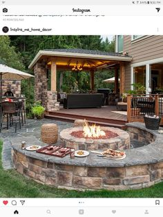 "Find out more information on ""outdoor fire pit ideas backyards"". Check out our web site. Backyard Patio Designs, Pergola Patio, Backyard Landscaping, Patio Stone, Patio Privacy, Flagstone Patio, Concrete Patio, Patio Table, Landscaping Ideas"