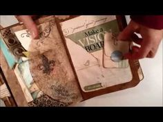 My Junky/Scrap Junk Journal for the journal swap - YouTube