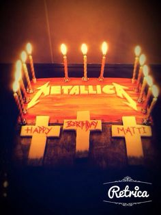 Metallica birthday!