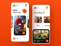 Gaming App by Sajon for Fireart Studio on Dribbble