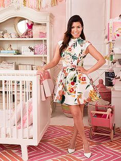 That rug! | Kourtney Kardashian: Every Child's Room 'Should Have Some Magic'