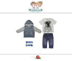 #Trendy #look for #boys from #Boboli. Discover at: www.kidsandchic.com/boy   #boysclothing #boysfashion #kidsfashion #trendychildren #kidsclothing #toddlerclothes #shoponline #shoppingbarcelona #hoodedjacket #jacket #tshirt  #boystshirt #jeans #boysjeans #denim  #backtoschool #vueltaalcole