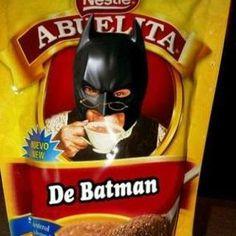 Chocolate Abuelita de Batman