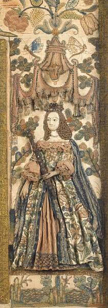 detail mirror ca. 1670