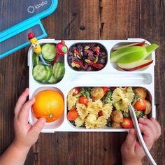 Unleash your inner vegan with this jaw dropping and healthy bento meal exclusively at Kinsho 💚❤Shop now at www.amazon.com/kinsho #lunchboxforkids #backtoschoolideas #healthylunchesforkids#bentolunchideas #lunchboxideas #healthyschoollunches #bentoboxlunchforkids#healthytoodlermeals #kidshealthylunches Cold Lunch Ideas For Work, Bento Box Lunch For Kids, Easy Lunch Boxes, Lunch To Go, Lunch Menu, Healthy Packed Lunches, Cold Lunches, Healthy School Lunches, Lunch Specials