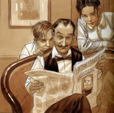 Reading and Art: Jean-Pierre Gibrat