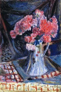 ¤ Pierre Bonnard. vase aux oeillets