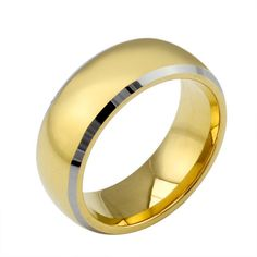 gold ring on sale at reasonable prices, buy Modyle New Fashion Gold Rings Tungsten Steel Men Women Jewelry Big Wedding Rings from mobile site on Aliexpress Now! Big Wedding Rings, Wedding Ring Pictures, Wedding Ring Designs, Wedding Jewelry, Stainless Steel Wedding Bands, Men's Jewelry Rings, Fine Jewelry, Jewellery, Engagement Jewelry