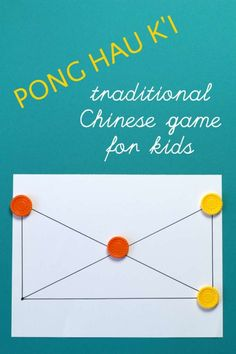 How to play Pong Hau K'i, a traditional Chinese game that even young kids can play. Easy to set up and play either at home, or on the go. You are in the right place about Board Games for toddlers Here Math Board Games, Board Games For Kids, Games For Toddlers, Games For Teens, Math Games, Games To Play, Activities For Kids, Therapy Activities, Simple Games For Kids