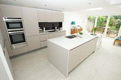 Modern matt kitchen extension