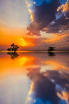 Calm and peace...