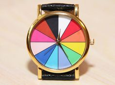 Watch triangles  Watches minimalist  triangles color