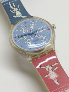 Swatch Watch Bunnysutra STGK101 Touch Game by ThatIsSoFunny