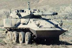 Proposed LAV-Assault Gun offered to the USMC