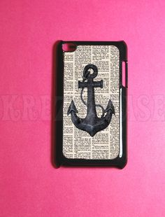 Ipod Touch 4 Case - Anchor with book