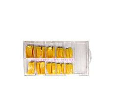 Verniz de Luxo - Caixa Tips Amarela 100 unids Ice Cube Trays, Tips, Box, Luxury, Hacks, Counseling